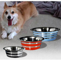 Pet Bowl Color with Etched Line