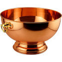 Plain Gold Copper Champagne And Wine Bottle Display Bowl