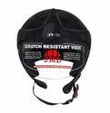 Wonder With Peak Glossy Black Helmet