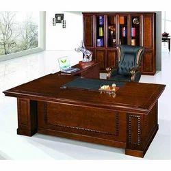 Oak Wood Modular Office Table