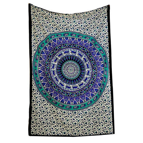 Printed Square Twin Wall Hangings Tapestry