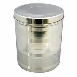 Stainless Steel Storage Container, Material Grade: Ss304, Capacity: 10 To 20 Litre