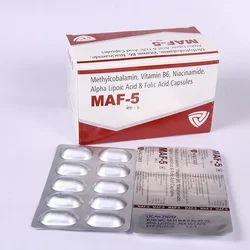 Methylcobalamin 1000 mcg  Pyridoxine Hydrochloride 3 mg Ni