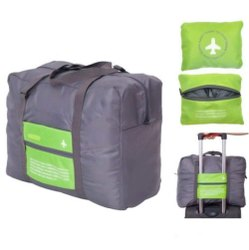 Foldable In Flight Regular Waterproof Foldable Travel Luggage Bag / Flight Bag
