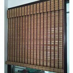 Wooden Brown Designer Chick Curtains