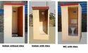 Portable RCC Toilets