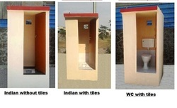 Portable Concrete Toilet Cabins