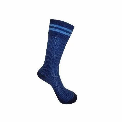 387c6c936 Cotton Calf Length Kids School Socks, Rs 14 /pair, Sunil Bros   ID ...