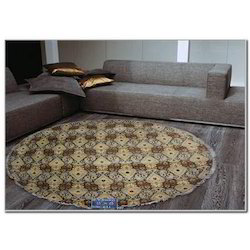 Multicolor Hand Knotted Modern Design Woolen Carpets