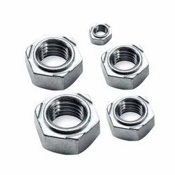 Stainless Steel Polished SS Hex Weld Nut, Size: 4 mm-40 mm, Round