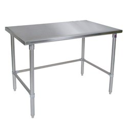 Silver Stainless Steel Table