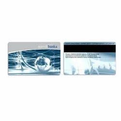 Metallic Membership Card