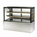 Straight Glass Display Counter