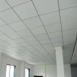 White Grid Ceiling, for Residential & Commercial, Features: Water Proof