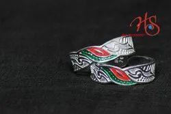 Fancy Silver Ring (Ladies)