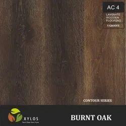 Burnt Oak Laminated Wooden Flooring