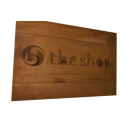 Wooden Signage Board