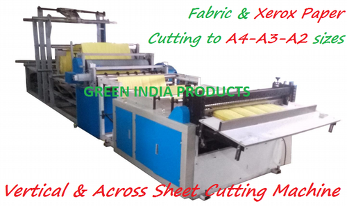 Fully Auto A4 Size Paper Sheet Cutting Machine