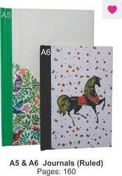 A5 & A6 Note Book With Soft Ruled