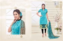 Printed Dress Material Unstitch Salwar Kameez