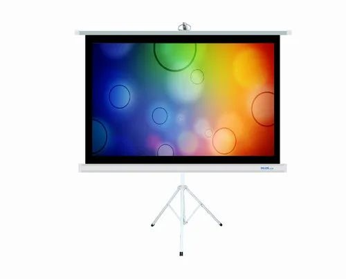 Suvira Projection Screen Tripod 84 Diagonal Matte White Fabric 4 3 Ratio At Rs 4199 Piece Ambala Id 20502946330