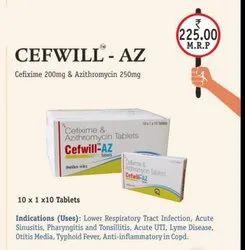Cefixime & Azithromycin Tabltes