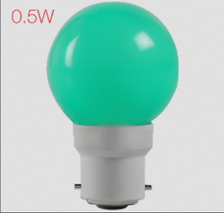Aluminum Cool White Havells Adore LED 0 Point 5 W Coloured Bulb