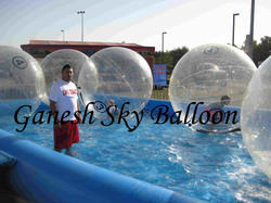 Transparent Inflatable Water Ball, Size: 6 x 6 feet
