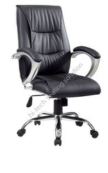 Black Leather Boss Chairs