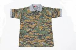 Army Cobra Half -T-shirts Collar