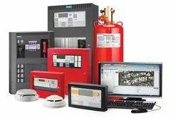 M S Body White Ravel Fire Alarm System