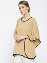 Cottinfab Women's Solid Kaftan