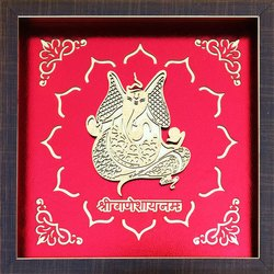 Wood Polished Religious Picture Frame, Packaging Type: Box