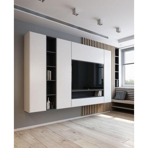 Incredible Wall Mounted Wooden Tv Unit Download Free Architecture Designs Viewormadebymaigaardcom