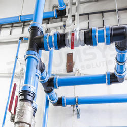 Modular Compressed Air Aluminium Piping System