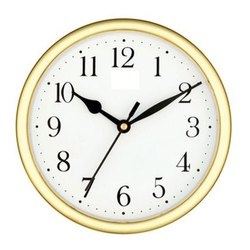 Analog HIPS Plastic Economic Wall Clock, Size: 170 X 170 X 45 Mm, Model Name/Number: 02
