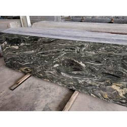 Flamed Green Flames Granite, Thickness: 15-20 mm