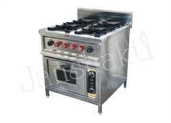 Continental Four Burner Gas Cooking Range