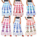 Casual Wear Girls Wrap Skirt