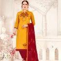 Cotton Handwork Salwar Suit