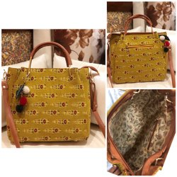 SHEENAZ Handbags Summer Handbag, 350 Grams, Size: 13'*11*3