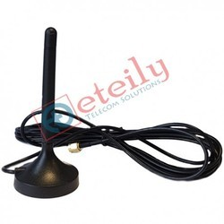 GSM 3G 3dbi Rubber Magnetic Antenna with Rg174 3mtr Cable