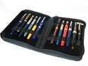 Leather Large Capacity Pen Case