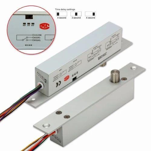 Fail Safe Dc12v Deadbolt Electric Drop Bolt Plug Narrow Door Lock 5 Wires