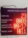 Production Status Display
