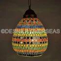 Deshilp Overseas Multi Mosaic Hanging Lamp