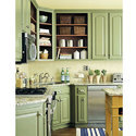 Trendy Modular Kitchen Cabinet