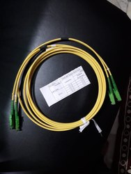 Fiber Patch Cord  E 2000 APC TO E 2000 APC