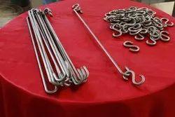 Titanium Hooks for Anodising