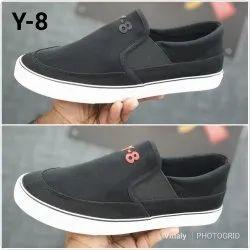 Men Daily Wear Gents Canvas Shoes, Size: 39-44
